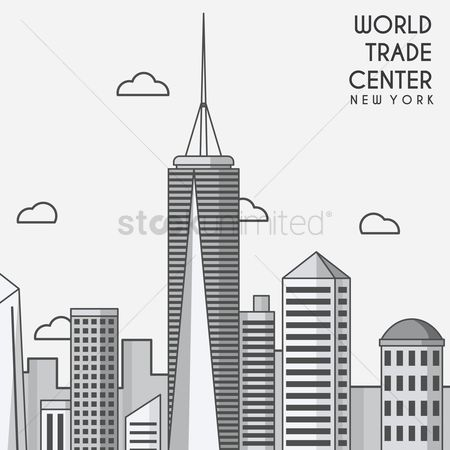 New york : World trade center