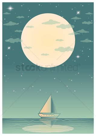 Sceneries : Yacht poster