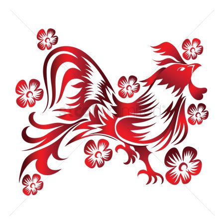 Roosters : Year of the rooster
