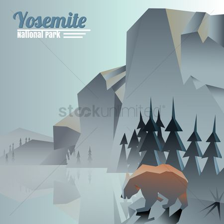Tourist attraction : Yosemite national park