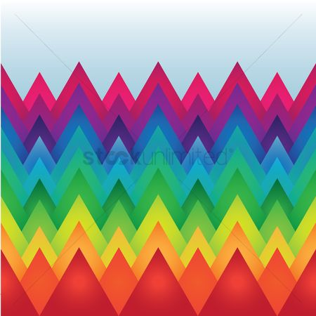 Zig zag : Zig zag colorful background