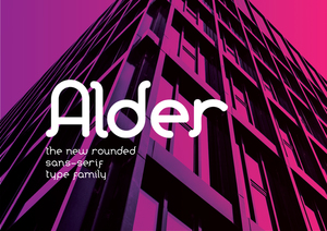 Flyer : Alder Type Family