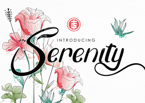 Fancy : Serenity Typeface