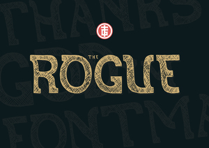 Fonts : The Rogue Typeface