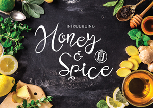 Fonts : Honey and Spice