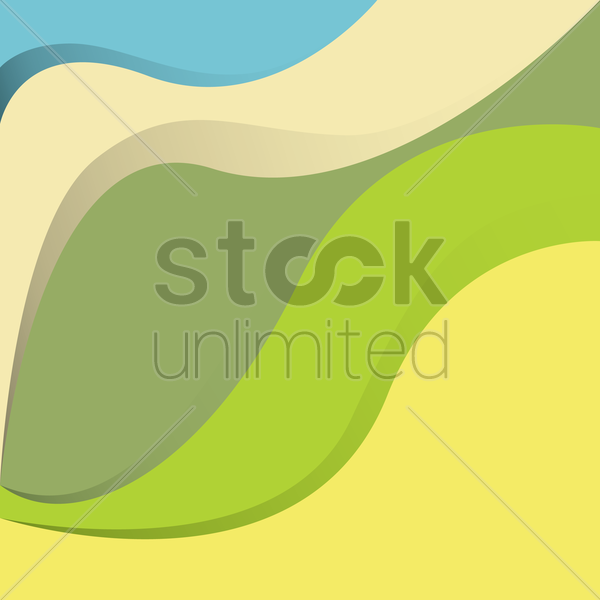 Free abstract color background vector graphic