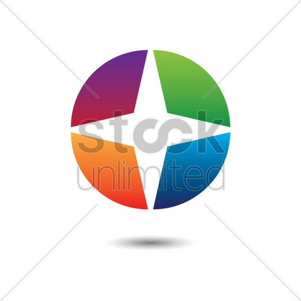 Abstract Logo Vector Image 1624418 Stockunlimited
