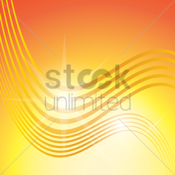 abstract waves background vector graphic