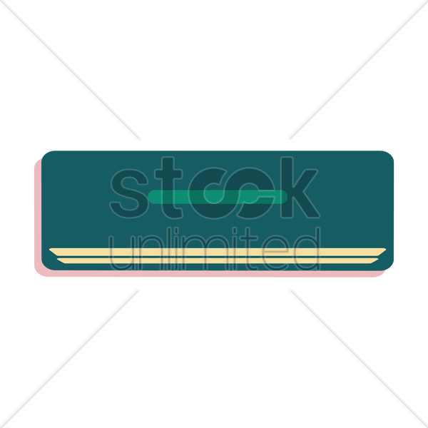 air conditioner vector graphic
