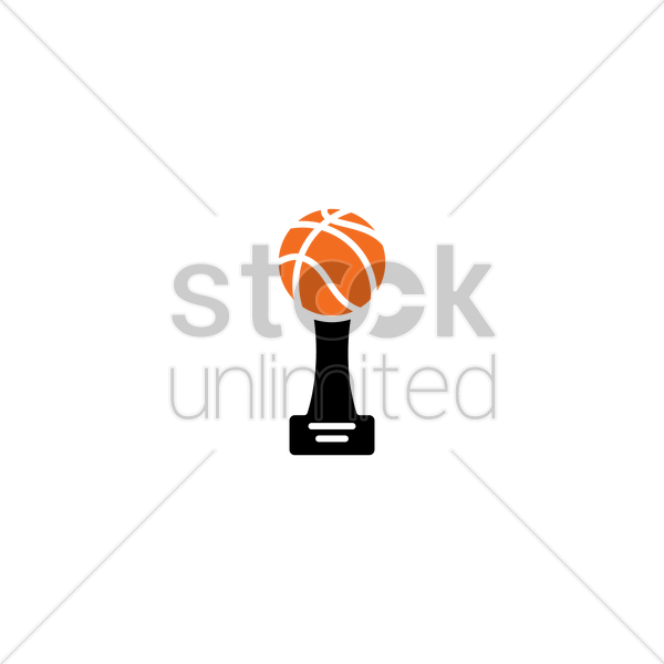 Basketball trophy Vector Image - 1988142 | StockUnlimited