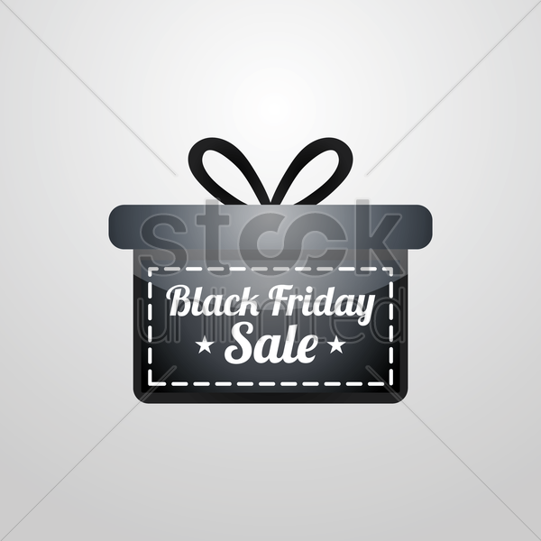 black friday sale design vector graphic