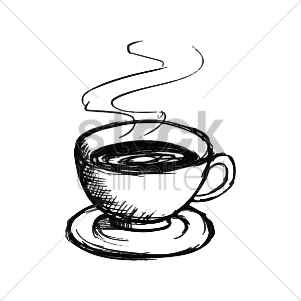 Cup Of Tea Vector Image 1634602 Stockunlimited