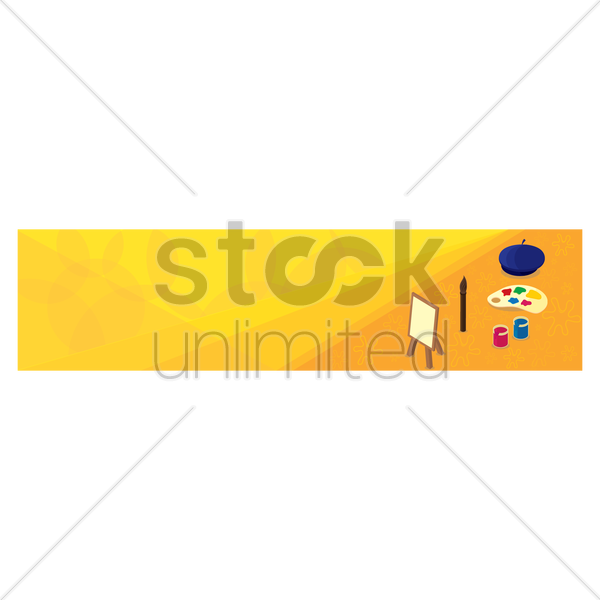Educational Banner Vector Image 1635810 Stockunlimited