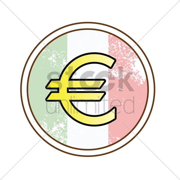 Euro Sign Vector Image 1576422 Stockunlimited
