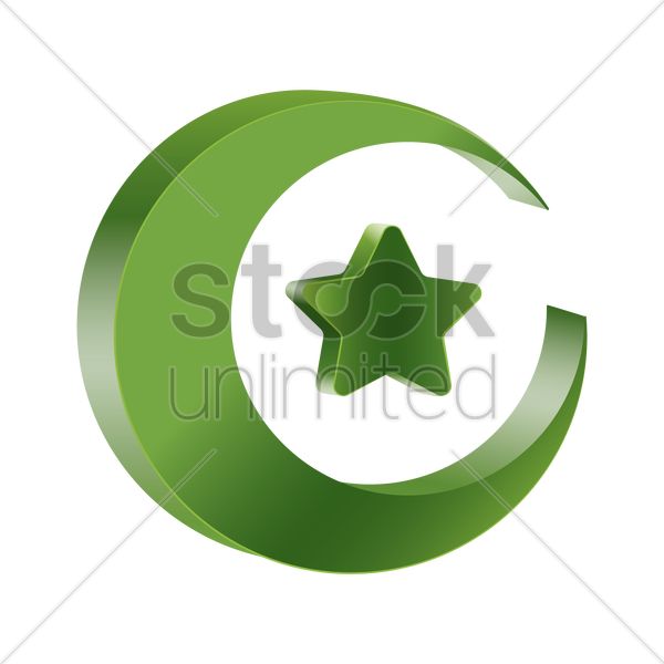 Islam Symbol Vector Image 1608342 Stockunlimited