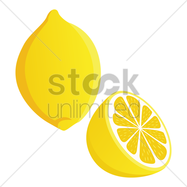 lemon vector graphic