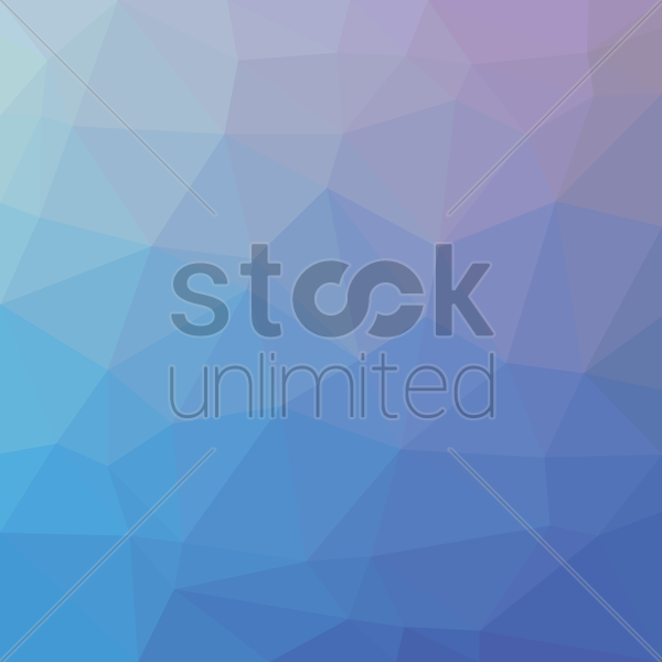 Free low poly background vector graphic