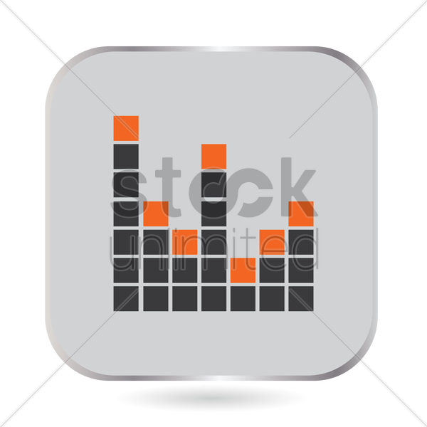 Free Music equalizer Vector Image - 1522870   StockUnlimited
