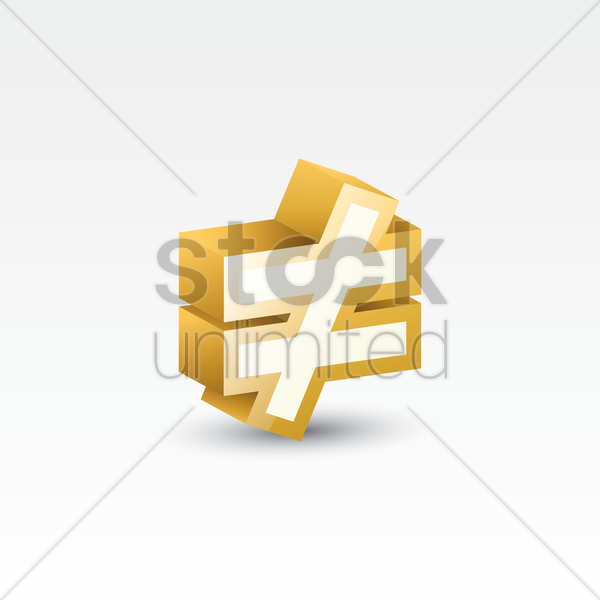 Not Equal To Symbol Vector Image 1617310 Stockunlimited