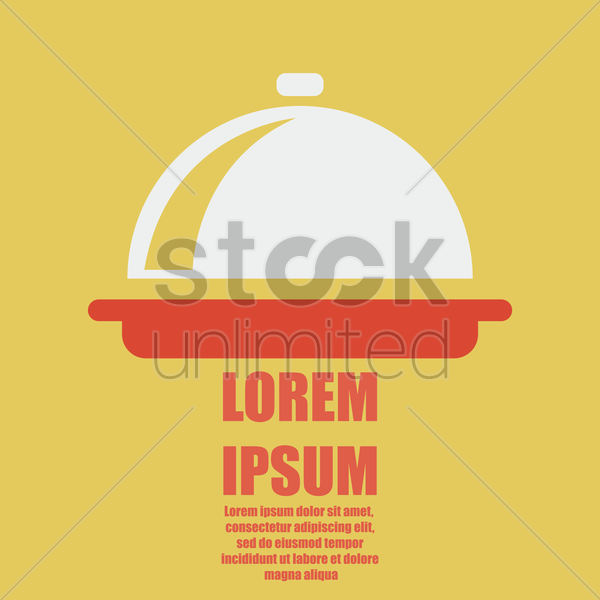 Restaurant Wallpaper Vector Image 1825782 Stockunlimited