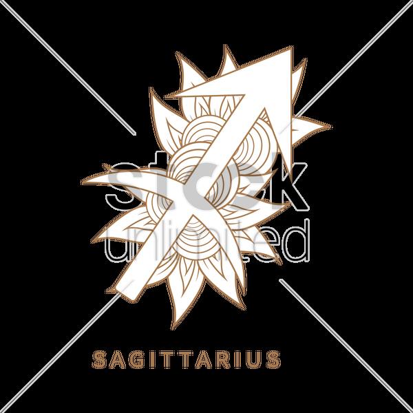 Sagittarius Symbol Vector Image 1964282 Stockunlimited