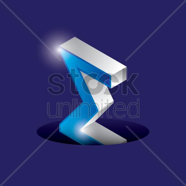 Sigma Symbol Vector Image 1631150 Stockunlimited