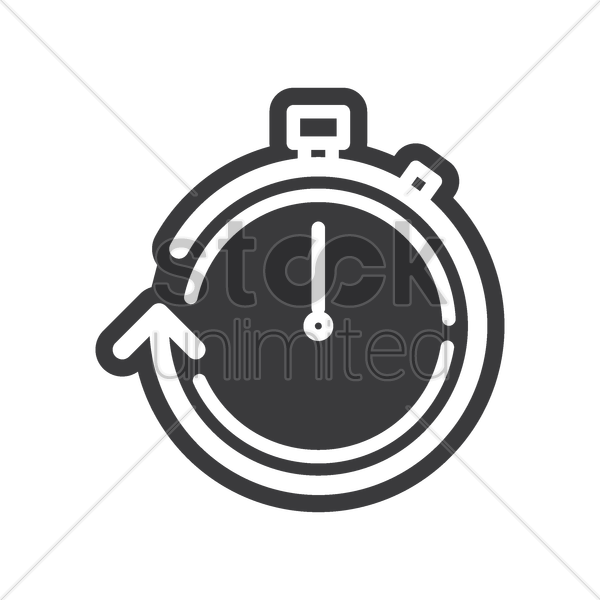 Stopwatch icon Vector Image - 2005070   StockUnlimited