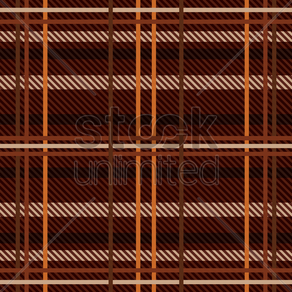 Free tartan background vector graphic