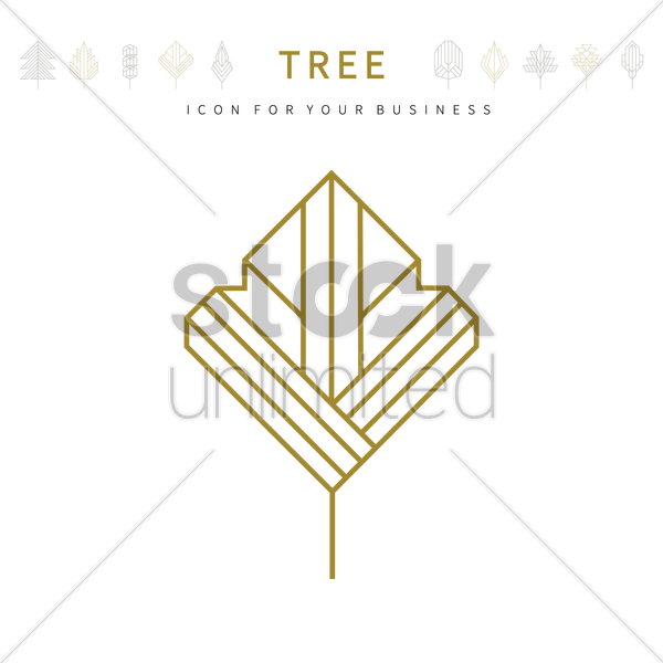 Tree template design vector image 1979890 stockunlimited tree template design vector graphic friedricerecipe Choice Image
