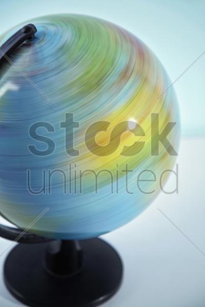 spinning globe stock photo 1704022 stockunlimited