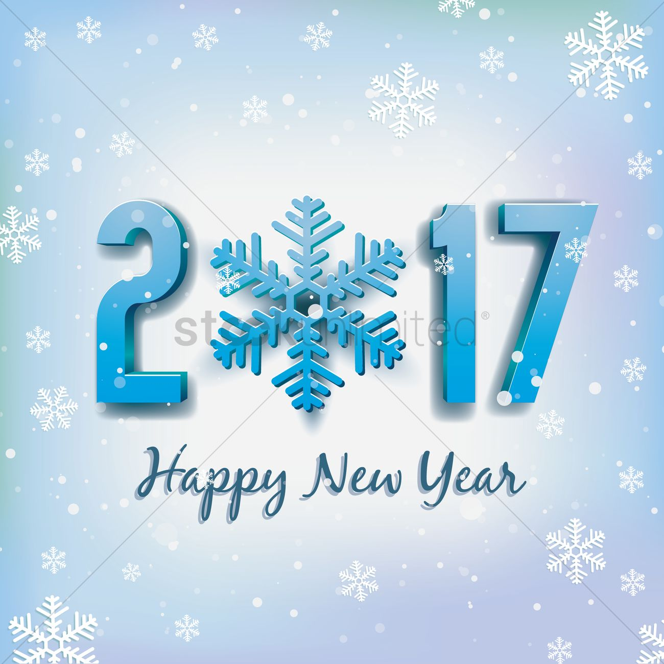 2017 happy new year greeting vector image 1940350 stockunlimited 2017 happy new year greeting vector graphic kristyandbryce Gallery