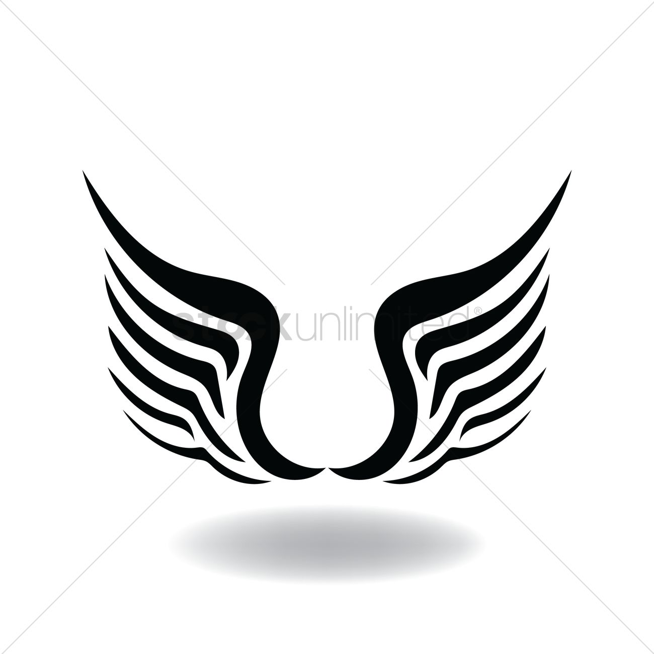 abstract angel wings vector image 1503190 stockunlimited angel wings vector art angel wing vector free download