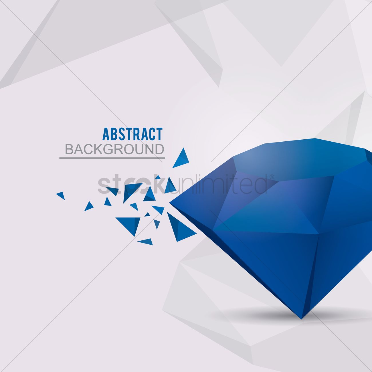 Abstract diamond background Vector Image - 1331438 | StockUnlimited