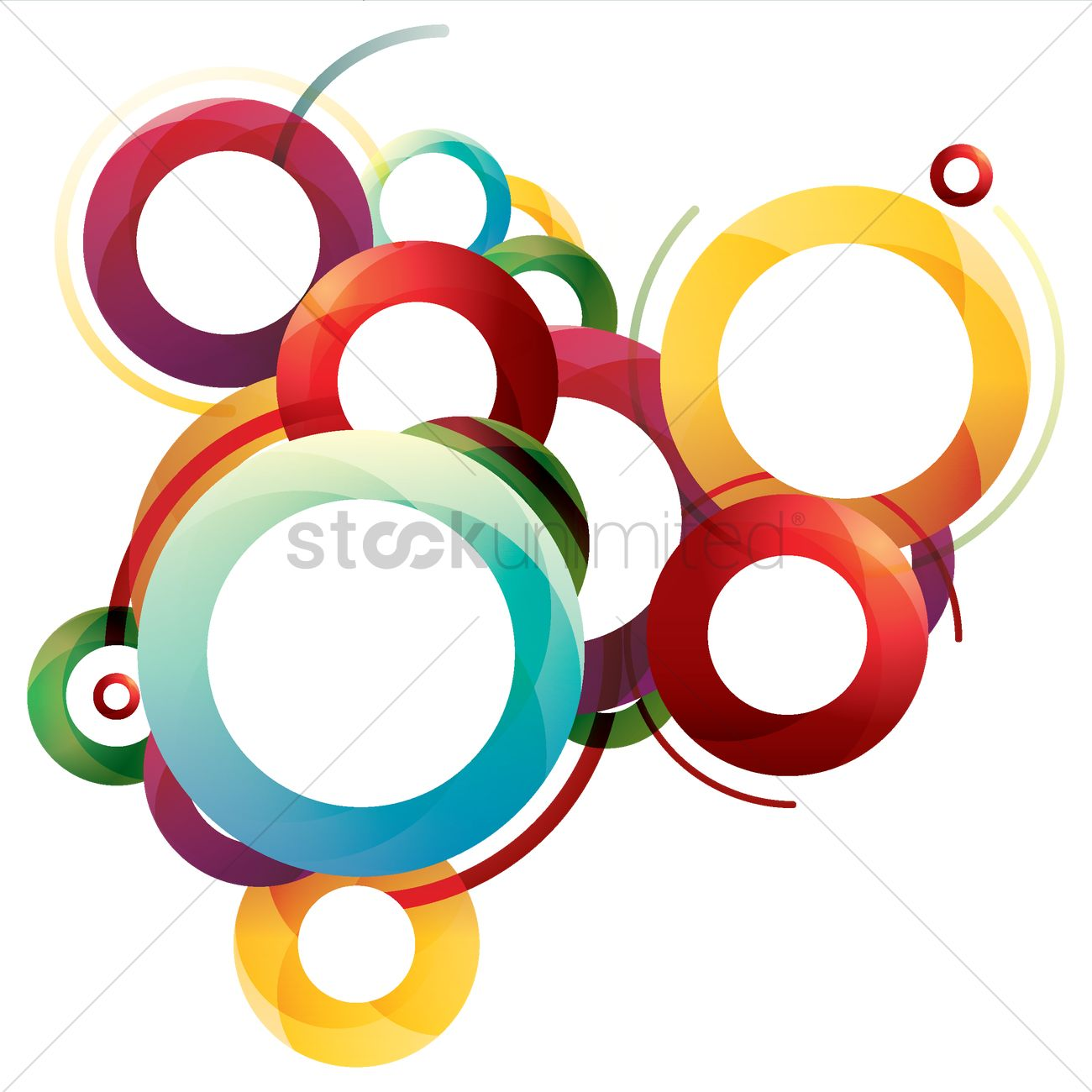 Abstract Shapes Design Vector Image 2006578 Stockunlimited