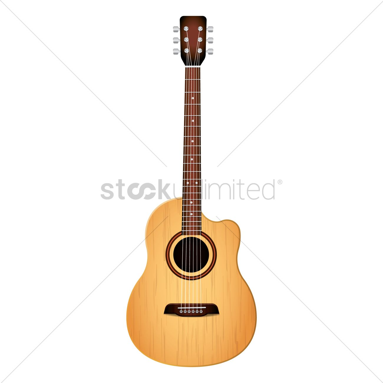 acoustic guitar vector image 1979482 stockunlimited rh stockunlimited com
