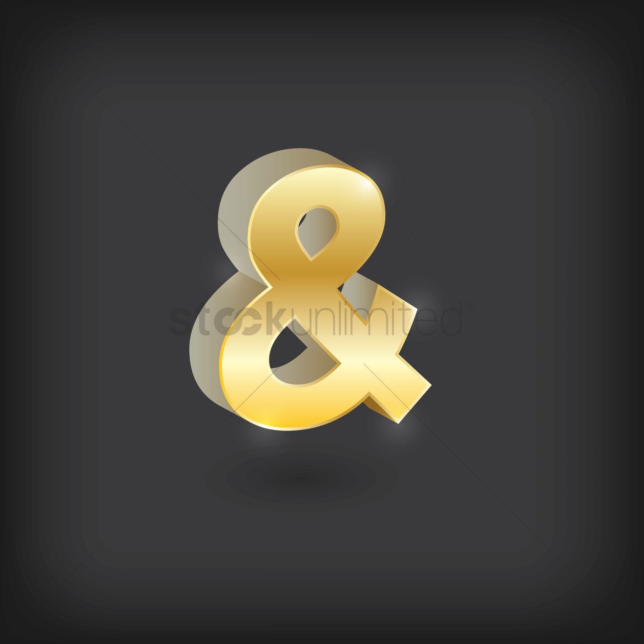 Ampersand symbol Vector Image - 1871350 | StockUnlimited
