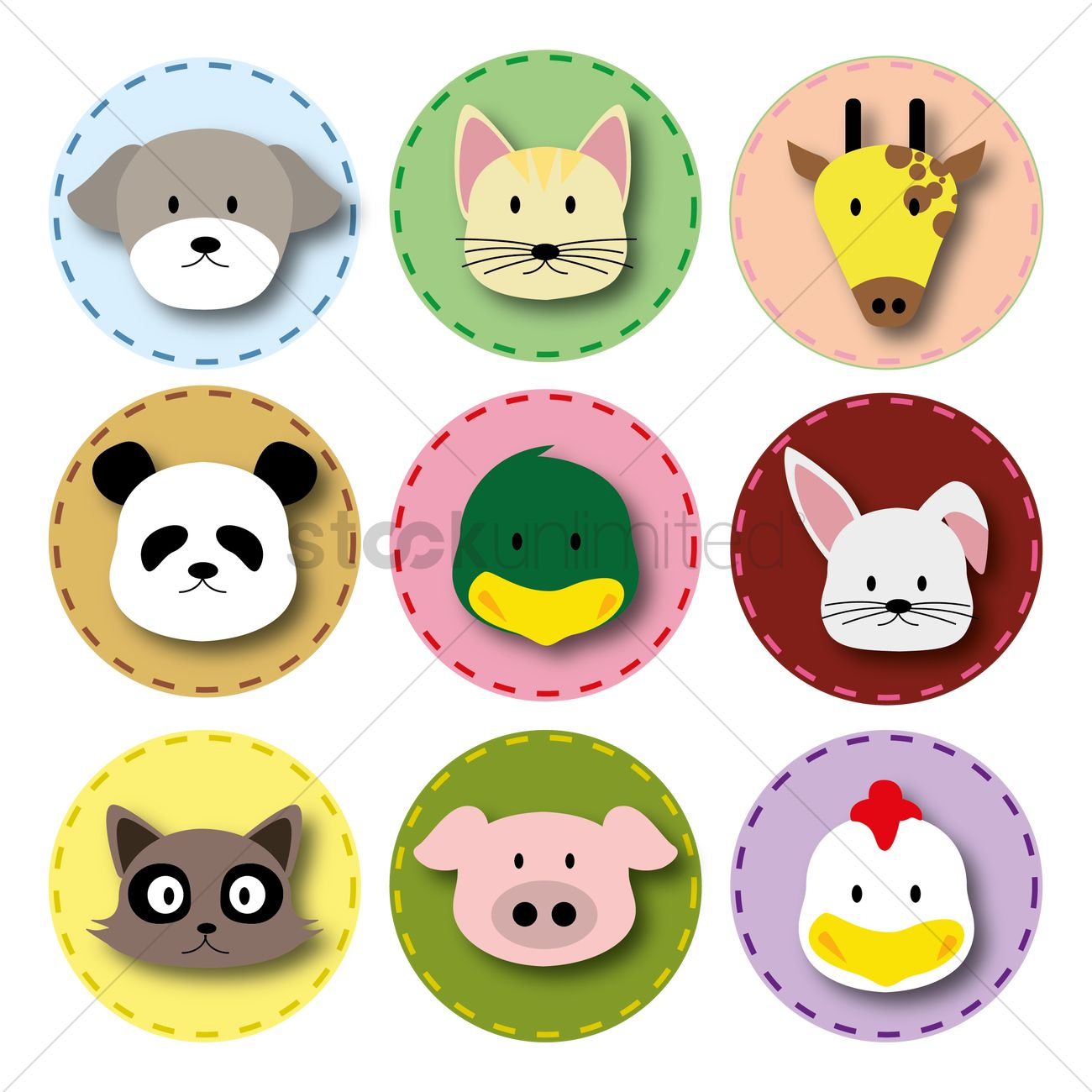 Animals Icon Vector Image - 1423482