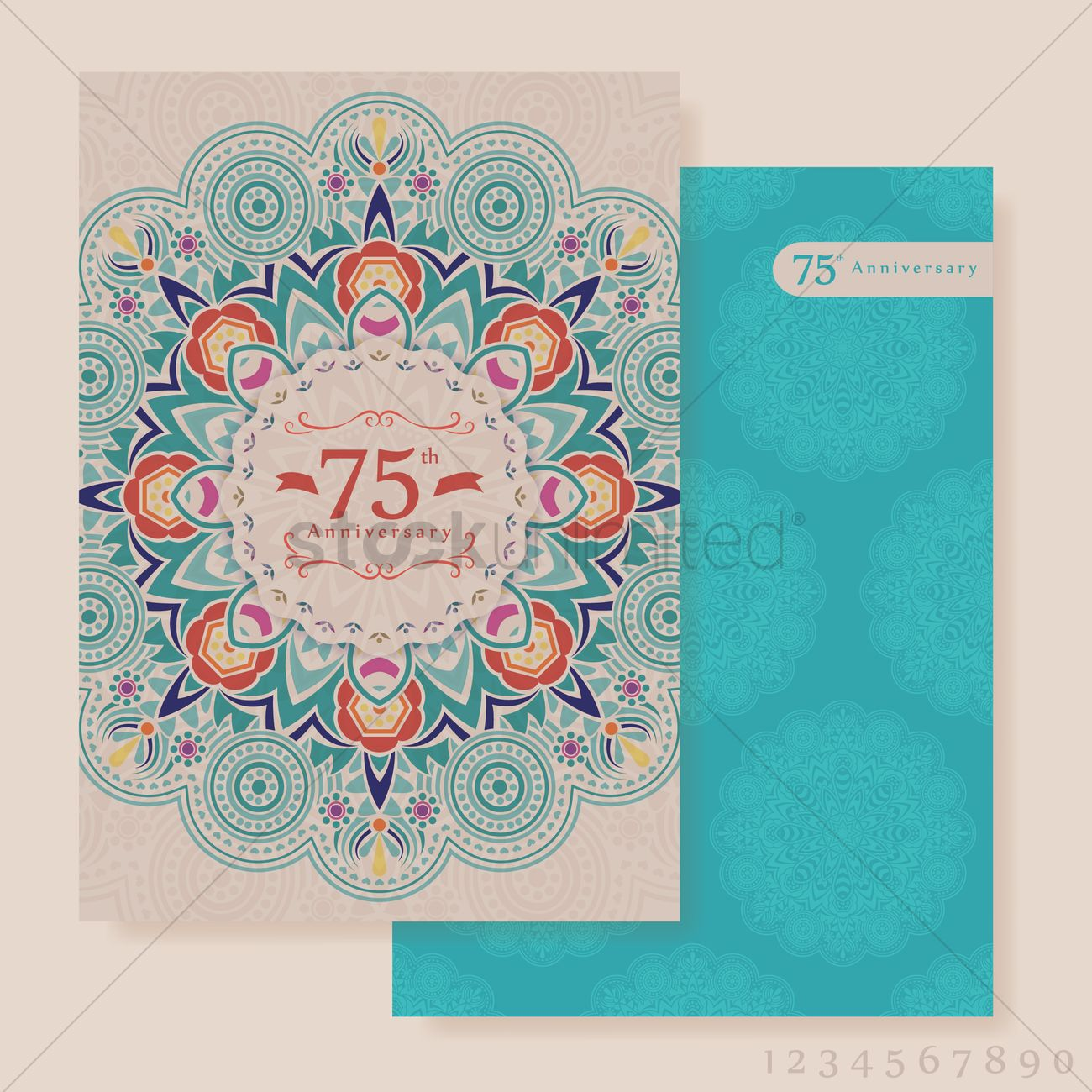 Anniversary invitation vector image 1826114 stockunlimited anniversary invitation vector graphic stopboris Image collections