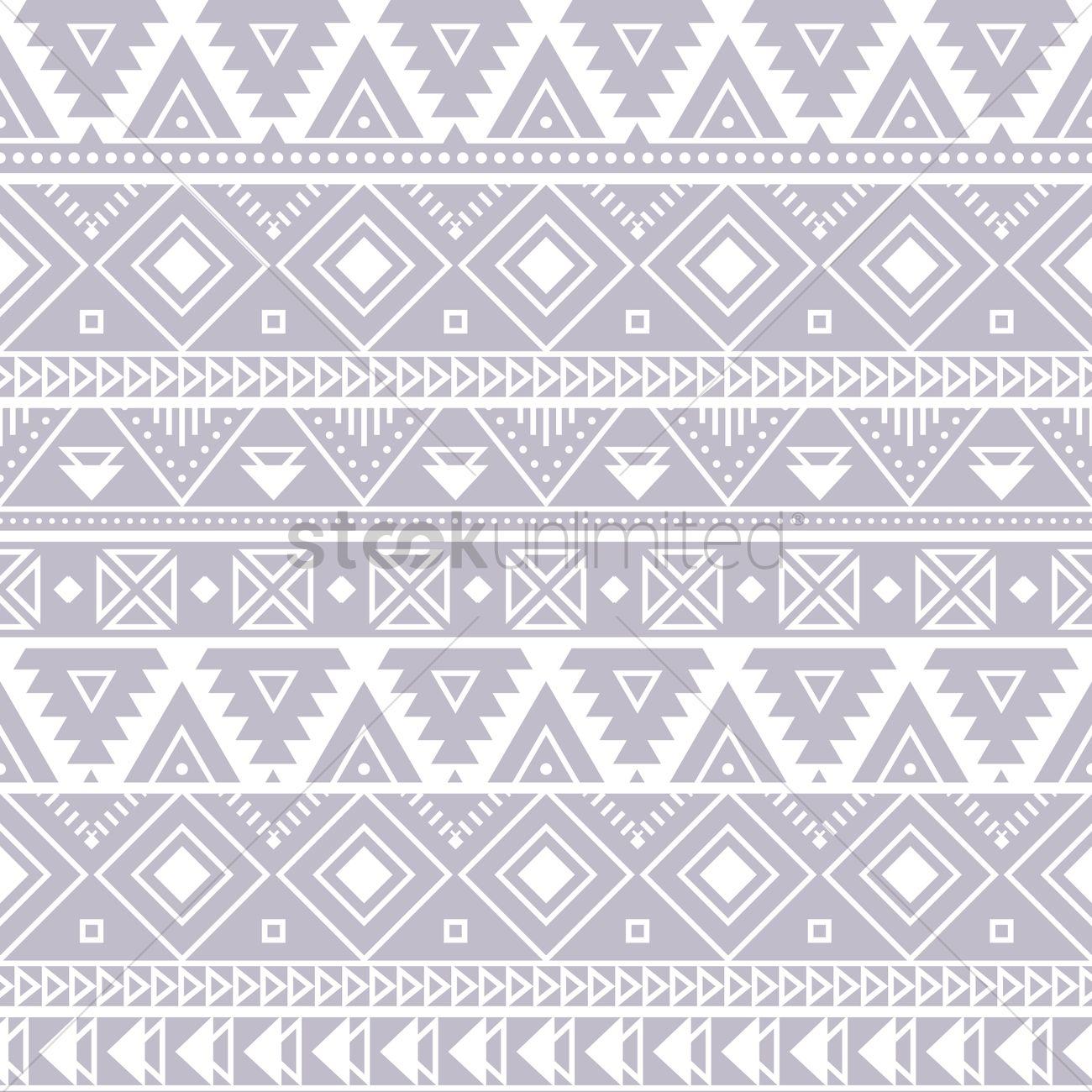 aztec background design vector image 2011898