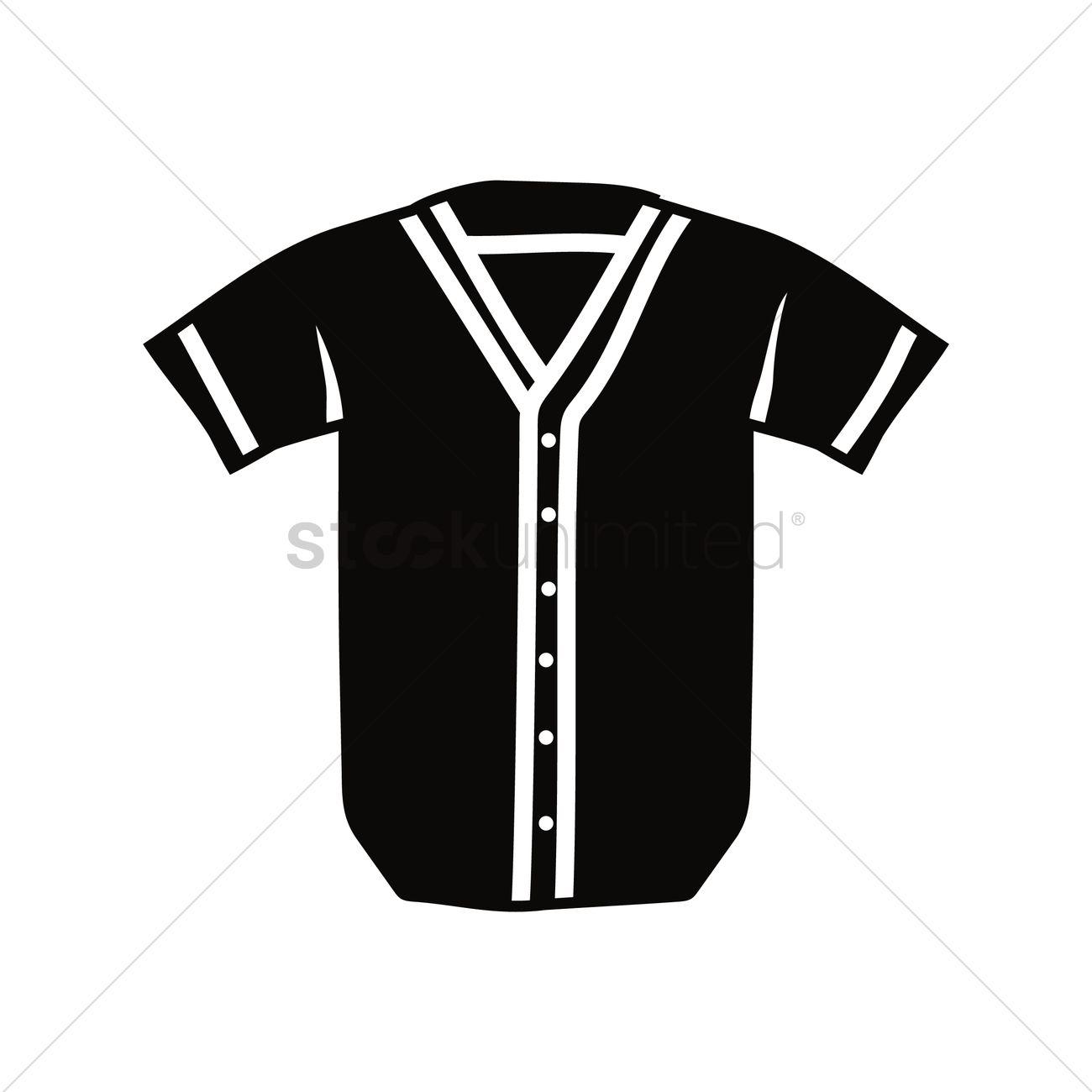 baseball jersey vector image 1987446 stockunlimited. Black Bedroom Furniture Sets. Home Design Ideas