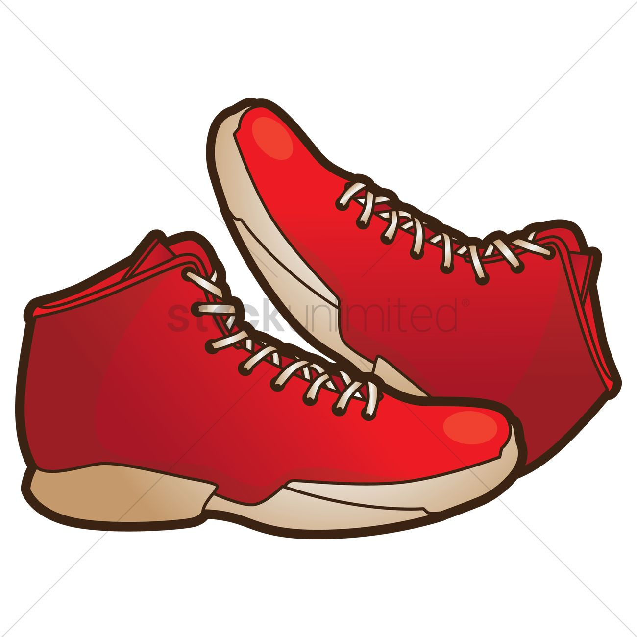Free Basketball shoes Vector Image