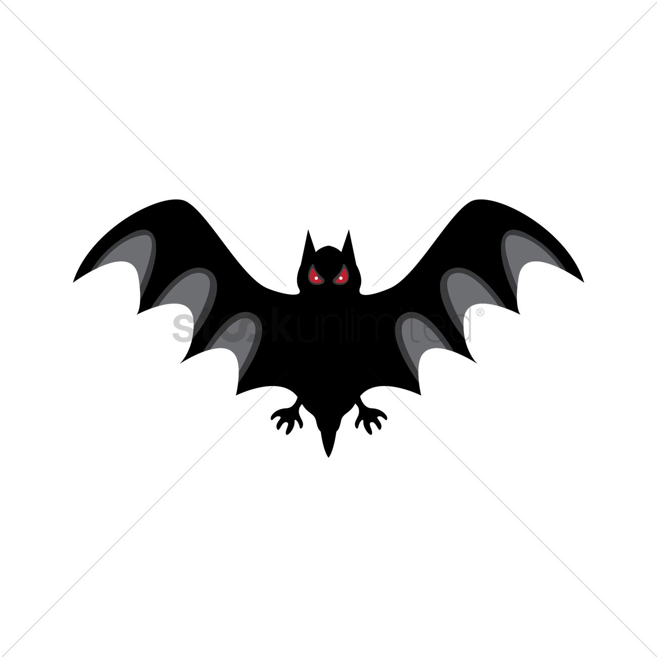 Bat Design Vector Graphic