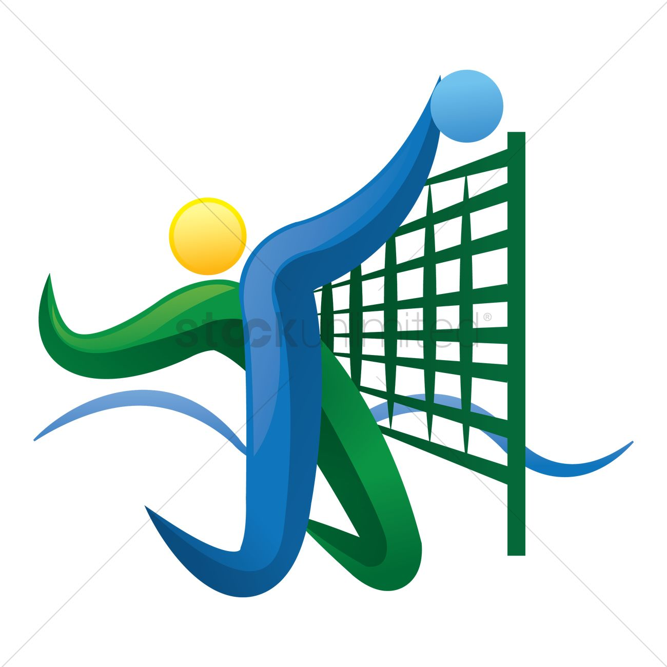beach volleyball icon vector image 1817674 stockunlimited rh stockunlimited com