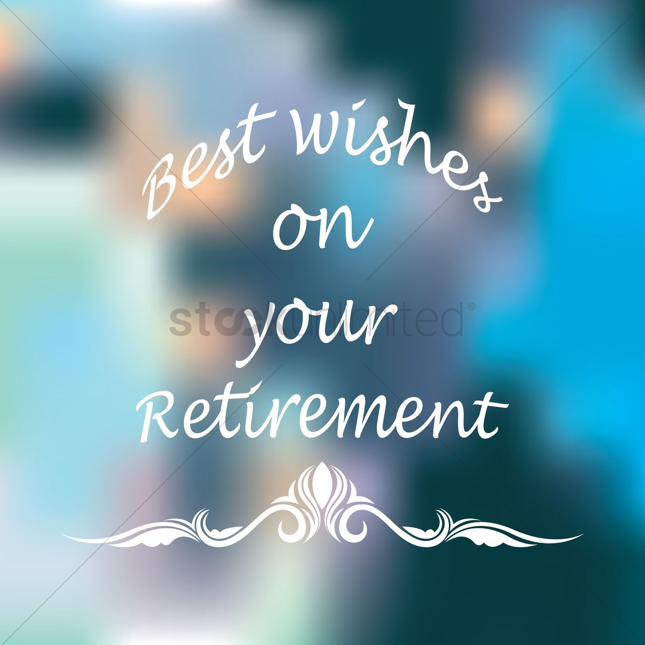 Best wishes on your retirement vector image 1827330 stockunlimited best wishes on your retirement vector graphic kristyandbryce Images