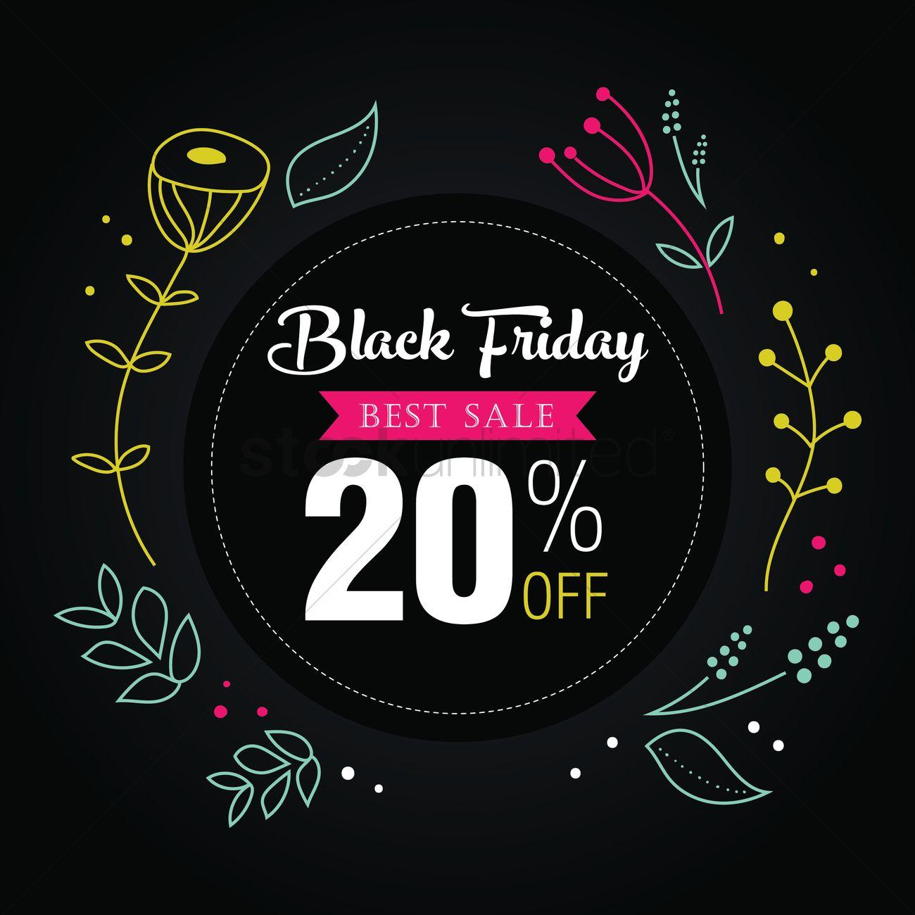 black friday sale wallpaper vector image 1583250 stockunlimited. Black Bedroom Furniture Sets. Home Design Ideas