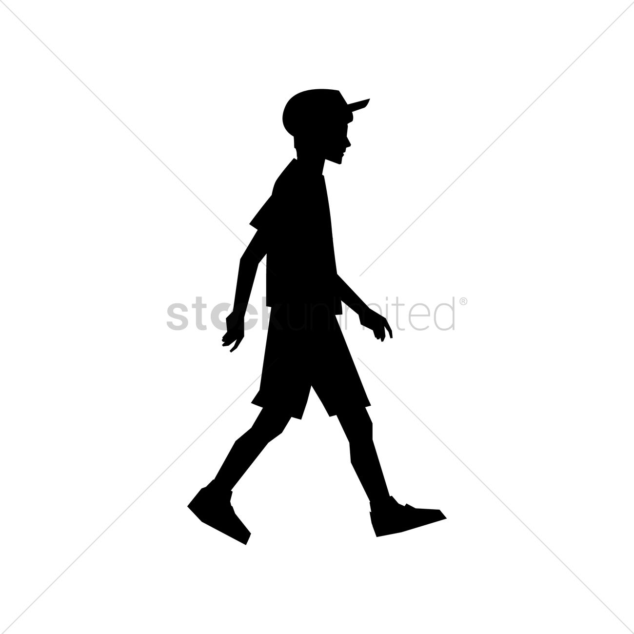 Boy Silhouette Design Vector Image 2017370 Stockunlimited Silhouette of an indian boy taken near krs dam in karnataka india. boy silhouette design vector image
