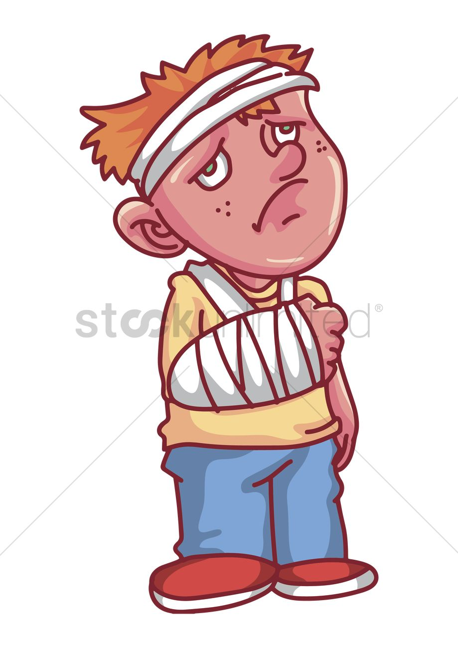 boy with broken arm concept vector image 2009270 stockunlimited rh stockunlimited com girl with broken arm clipart