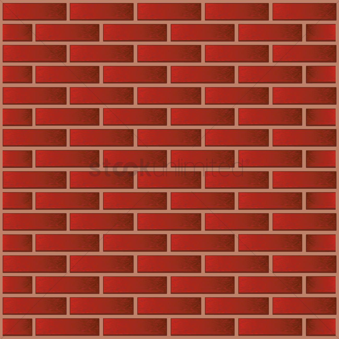 Brick wall Vector Image - 1441018 | StockUnlimited