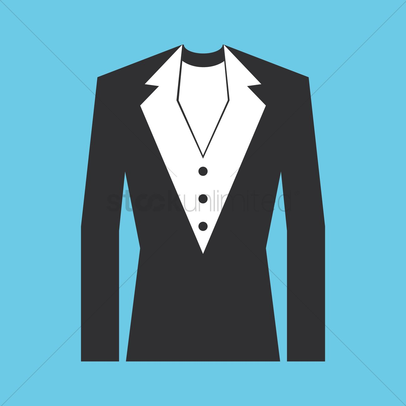 Bridegroom suit Vector Image - 1359202 | StockUnlimited