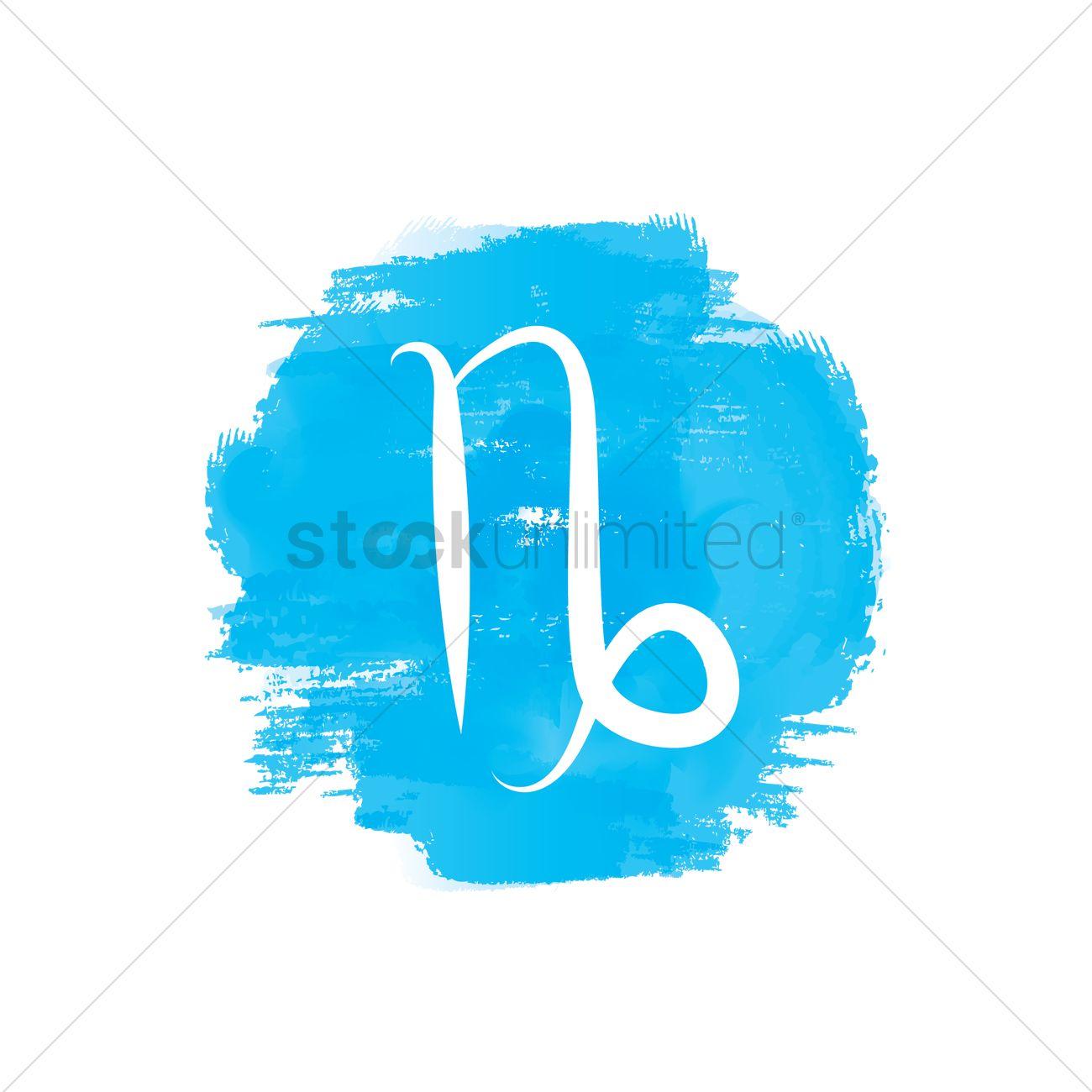 Capricorn Symbol Vector Image 1988802 Stockunlimited
